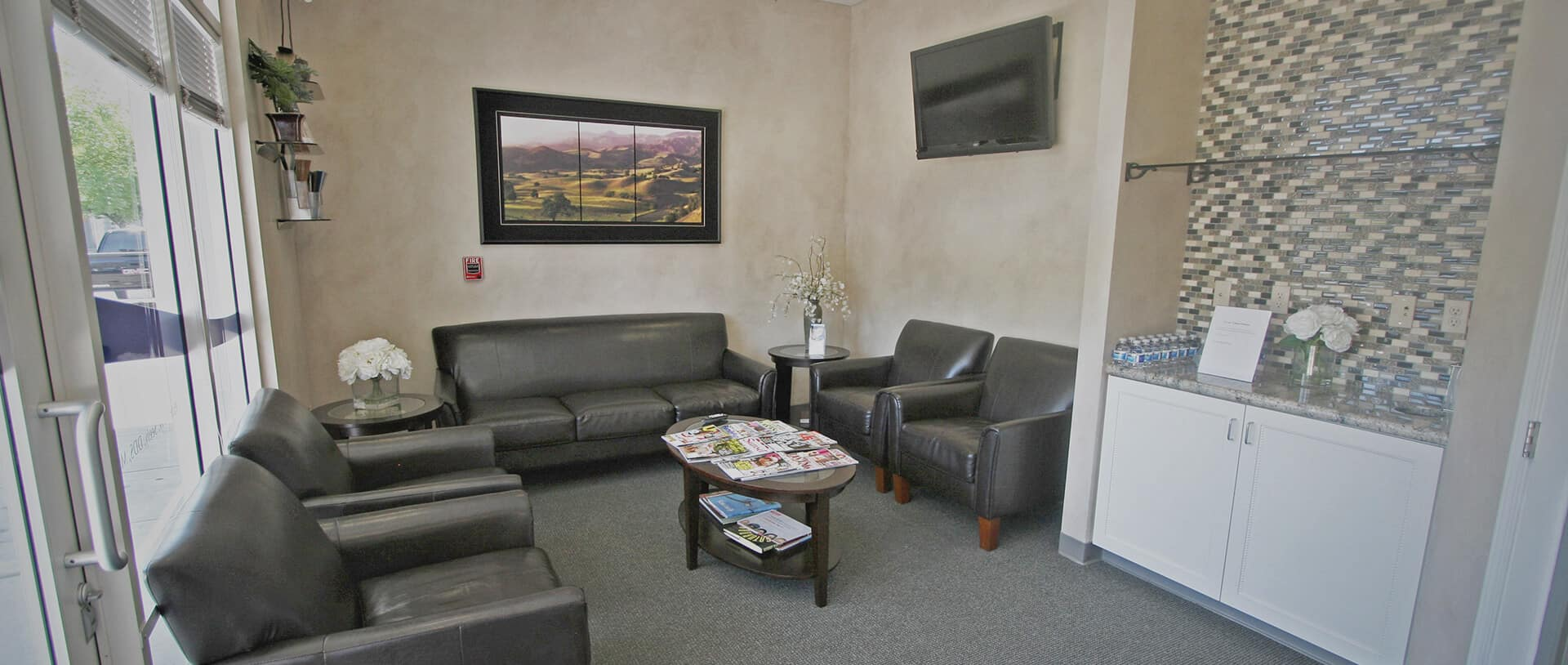 Windsor Dental Group waiting Room